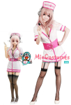 Super Sonico Nurse Costume