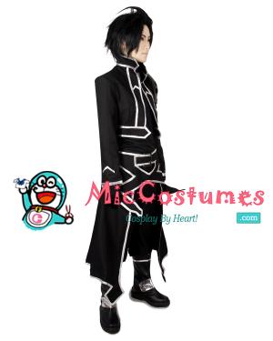 Sword Art Online ALfheim Online Kirito Cosplay Costume