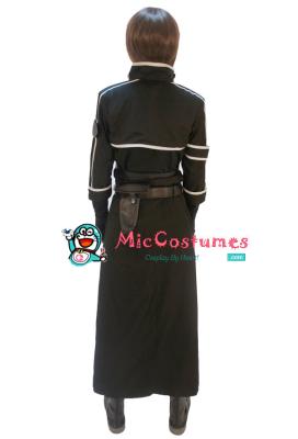 Sword Art Online 2 Phantom Bullet Gun Gale Online Kirito Cosplay Costume