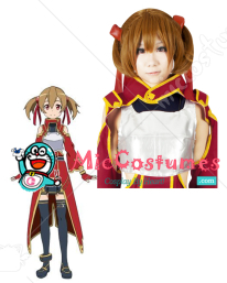 Sword Art Online Silica Cosplay Wig