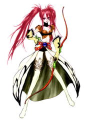 Tales of Destiny Nanaly Fletch Cosplay Costume