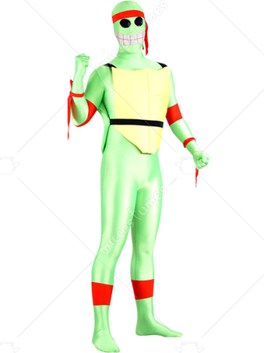 Teenage Mutant Ninja Turtles Lycra Spanex Super Hero Zentai Suit
