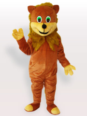 The African Lion Adult Mascot Costume
