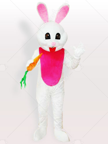 The Carrot Easter Bunny Rabbit Adult Mascot Costume