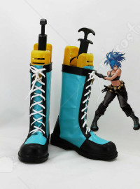 The King Of Fighters Leona Cosplay Shoes