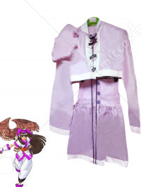 The King of Fighters Purple Nakoruru Cosplay Costume