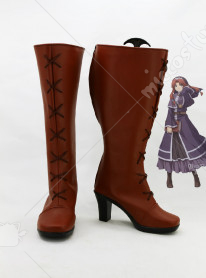 The Legend of Heroes Sora no Kiseki The 3rd Ries Argent Cosplay Shoes