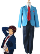 Haruhi Suzumiya Men Kyon North High School Cosplay Uniform