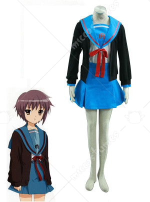 The Melancholy of Haruhi Suzumiya Naga Uniform Cosplay Costume