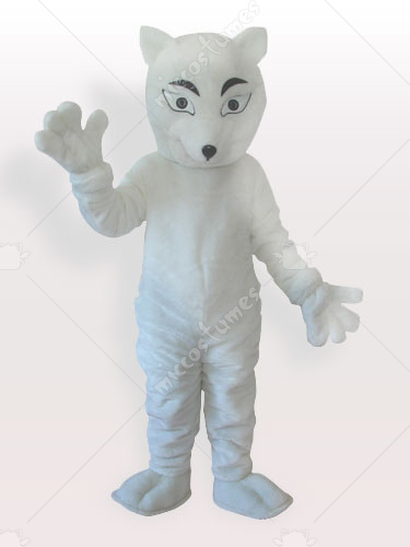 The Polar Fox Adult Mascot Costume