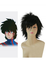 Robotech II The Sentinels Rick Hunter Cosplay Wig