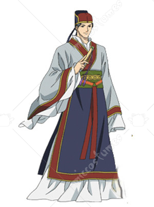 The Story of Saiunkoku Reishin Kou Cosplay Costume