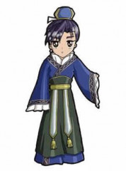 The Story of Saiunkoku Shuuei Ran Cosplay Costume