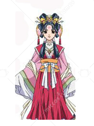 The Story of Saiunkoku Shuurei Kou Cosplay Costume