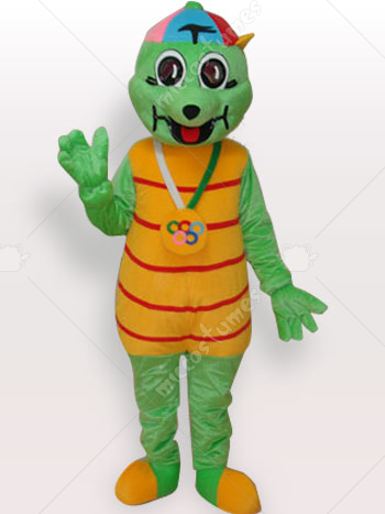 Tortise Short Plush Adult Mascot Costume
