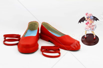 Touhou Project Remilia Scarlet Cosplay Shoes