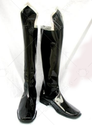 Trinity Blood Black Cosplay Shoes Boots