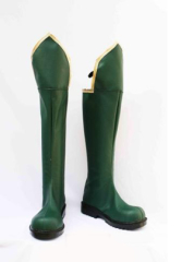 Trinity Blood Cosplay Shoes Boots Green