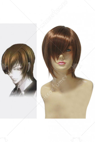 Trinity Blood Rosenkreuz Orden Brown Cosplay Wig