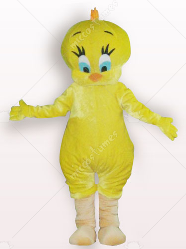 Tweety Short Plush Adult Mascot Costume