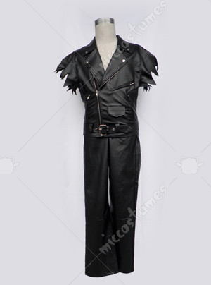 Two Pieces Leather Cosplay Costume