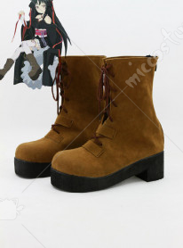 Unbreakable Machine-Doll Yaya Cosplay Shoes
