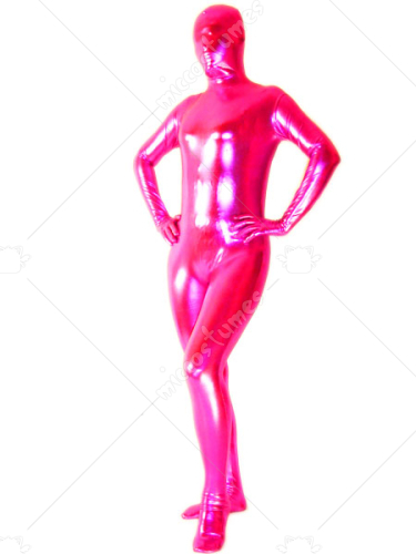 Unicolor Rose Unisex Lace Zentai Suit