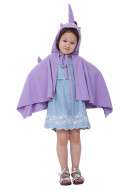 Little Pony Unicorn Kids Halloween Cosplay Costume Cloak
