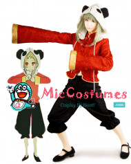 Vocaloid 12 Fanclub Gumi Cosplay Costume