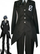 Vocaloid KAITO Secret Police Cosplay Costume