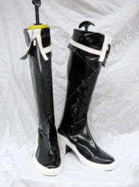 Vocaloid Black Rock Miku Cosplay Shoes Boots