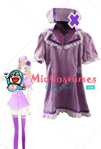 Vocaloid Luka Megurine Nurse Cosplay Costume