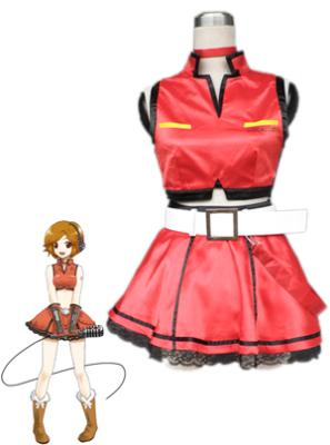 Vocaloid Meiko Sakine Cosplay Costume