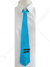 Vocaloid Miku Blue Cosplay Tie