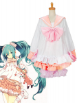 Vocaloid Miku Lots of Laugh Cosplay Costume