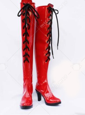 Vocaloid Meiko Cosplay Shoes Boots
