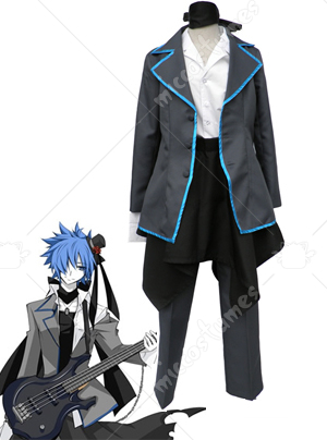 Vocaloid Secret Black Wow Kaito Cosplay Costume
