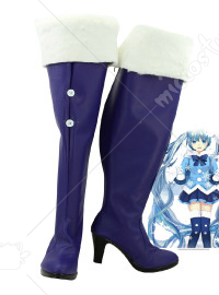 Vocaloid Snow Miku Winter Shoes