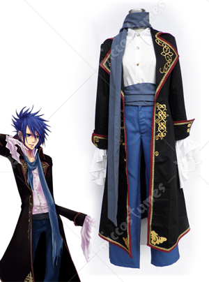 VOCALOID the Sandplay Singing of the Dragon KAITO Cosplay Costume