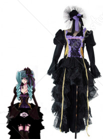 Vocaloid the sandplay singing of the dragon miku cosplay costume