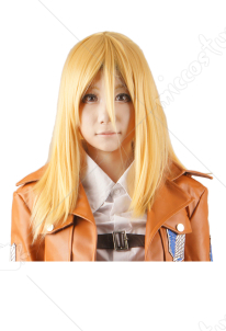 Attack on Titan Christa Renz Cosplay Perruque