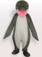 Whale Short Plush Adult Mascot Costume