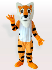 White Belly Tiger Adult Mascot Costume