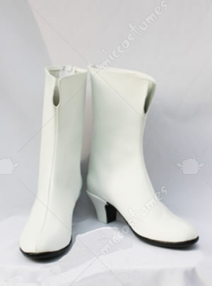 White Gundam Seed Cosplay Shoes Boots