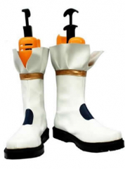 White Magical Girl Lyrical Nanoha Cosplay Shoes Boots