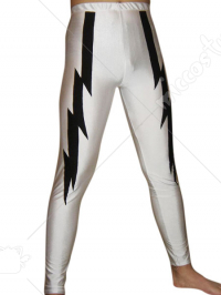 White Spandex Pants