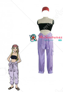 Fullmetal Alchemist Winry Cosplay Costume