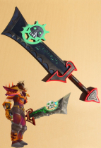 World of Warcraft Cosplay Weapon The Ashbringer