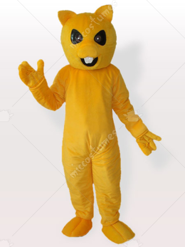 Yellow Chipmuck Adult Mascot Costume