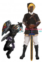 The Legend of Zelda Dark Link Cosplay Costume